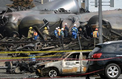 Quebec explosion aftermath