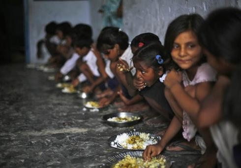 Food for India's children