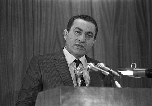 Rise and fall of Mubarak