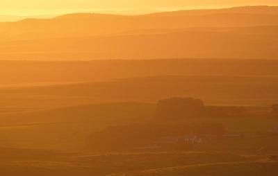 The Scotland-England border
