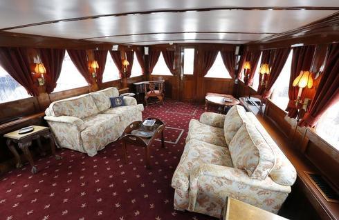 Onboard JFK's presidential yacht