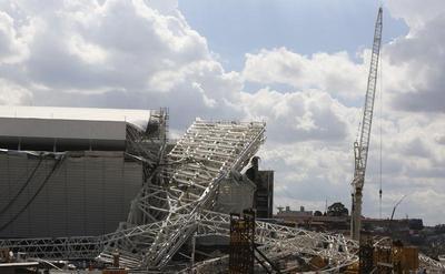 World Cup stadium collapse