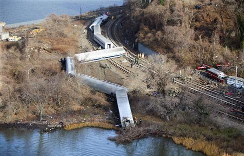 Bronx train derailment