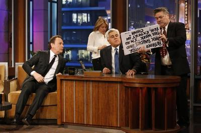 Talking with Leno