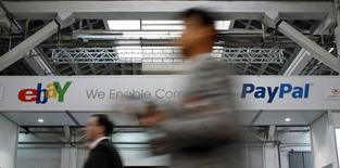 Carl Icahn s'est résolu jeudi à faire la paix avec le conseil d'administration d'eBay, faute d'avoir obtenu le soutien des principaux actionnaires du groupe à sa campagne pour obtenir une scission du service de paiement PayPal. /Photo d'archives/REUTERS/Albert