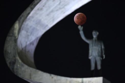 Under a blood moon