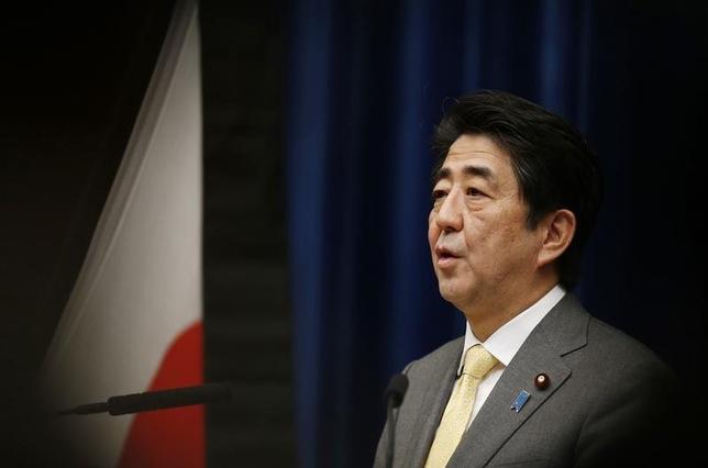 4月24日、今回のオバマ米大統領のアジア歴訪は、もっぱら日本と中国の「領有権問題」に関心が集中している。この問題でオバマ大統領は、ウクライナで犯したのと同じ過ちを繰り返しているようだ。写真は安倍晋三首相。3月撮影(2014年 ロイター/Issei Kato)