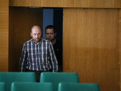Detained in eastern Ukraine