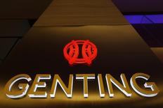 The logo of Genting Malaysia Berhad is seen at Genting Highlands at the state of Pahang outside Kuala Lumpur December 17, 2013. REUTERS/Samsul Said
