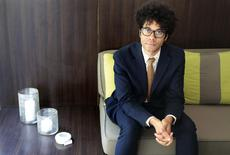 British actor-director Richard Ayoade poses for a portrait in West Hollywood, California May 6, 2014.  REUTERS/Jonathan Alcorn