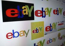 """En la imagen, el resultado de una búsqueda de imágenes en Google sobre eBay en una pantalla, en Encinitas, California, el 16 de abril de 2013. La compañía de comercio electrónico EBay dijo que hackers irrumpieron en su red hace tres meses, sustrayendo """"una gran parte"""" de una base de datos que contiene información sobre sus 145 millones de clientes en el que podría ser uno de los mayores robos de datos de la historia basado en el número de cuentas a las que se tuvo acceso. REUTERS/Mike Blake /Files"""