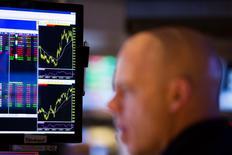 Confrontés à une fièvre des introductions en Bourse depuis l'année dernière en Europe, les investisseurs sont devenus bien plus sélectifs et évitent les candidats dont les valorisations sont les plus sujettes à caution. /Photo d'archives/REUTERS/Lucas Jackson