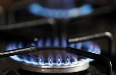 Le mode de calcul des tarifs du gaz en France devrait évoluer pour prendre en compte une plus grande indexation des coûts d'approvisionnement de GDF Suez sur les prix de marché, estime la Commission de régulation de l'énergie (CRE) dans un rapport. /Photo prise le 21 janvier 2014/REUTERS/Régis Duvignau