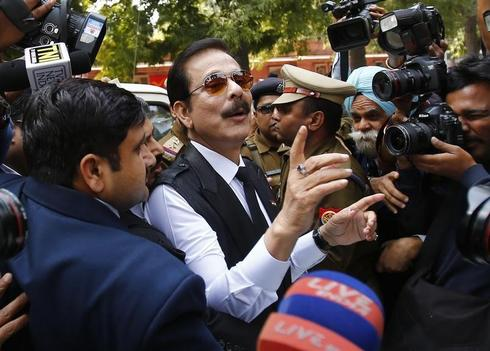 India's top court again rejects Sahara chief's bail plea