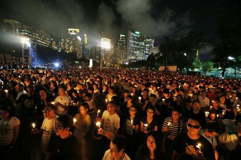 Hong Kong remembers Tiananmen