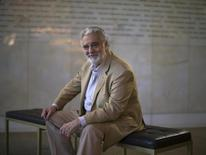 """Spanish opera singer Placido Domingo poses for a portrait at the Dorothy Chandler Pavilion in Los Angeles, California June 3, 2014. Domingo never expected to be where he is today, still singing on stages all over the world. Because of that unexpected longevity, he finds himself doing double duty as leading man and general director for the LA Opera, where he wraps up its 28th season this weekend as the love-struck monk Athanael in Massenet's """"Thais,"""" the 139th role of his career. Picture taken June 3, 2014.   REUTERS/Mario Anzuoni"""
