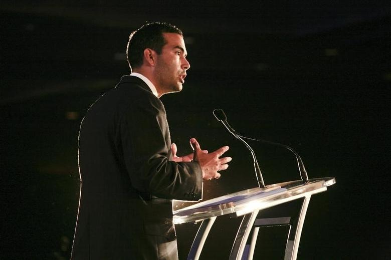 George P. Bush speaks during the 2011 Republican Leadership Conference in New Orleans, Louisiana June 18, 2011. REUTERS/Lee Celano