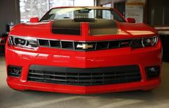 A 2014 Chevrolet Camaro is pictured in Thurmont, Maryland February 6, 2014.  REUTERS/Gary Cameron
