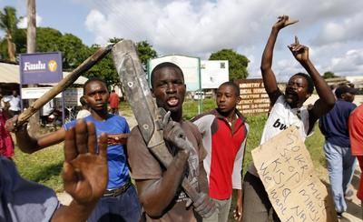 Gunmen attack World Cup screening
