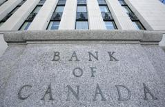 The Bank of Canada building is pictured in Ottawa March 3, 2009.  REUTERS/Chris Wattie