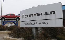 Chrysler fait état mardi d'une hausse de 9% de ses ventes de voitures neuves en juin aux Etats-Unis, à 171.086 unités, le troisième constructeur automobile affichant ainsi pour ce mois sa meilleure performance depuis 2007. /Photo d'archives/ REUTERS/Rebecca Cook