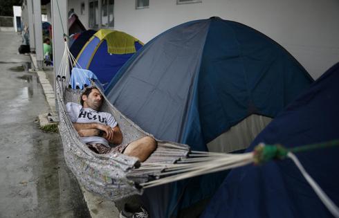 Fan tent city