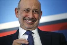 Presidente-executivo e chairman do Goldman Sachs, Lloyd Blankfein. REUTERS/Jonathan Ernst