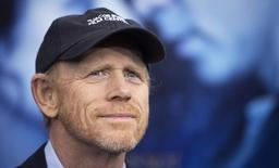 """Director Ron Howard arrives for the premiere of the movie """"Winter's Tale"""" in New York February 11, 2014.  REUTERS/Carlo Allegri"""