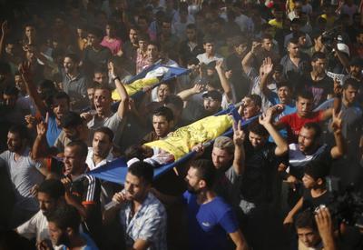Boys killed on Gaza beach