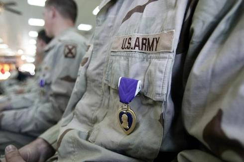 'Slenderman' attack victim receives Purple Heart from an anonymous well wisher