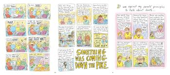 """Can't We Talk About Something More Pleasant?"""" by cartoonist Roz Chast.   REUTERS/Handout"""