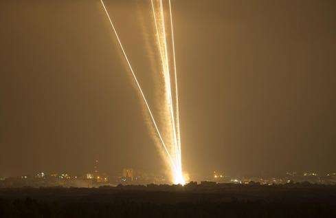 Rockets over Israel