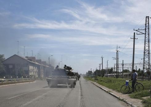 Two Ukrainian fighter jets shot down over rebel-held territory