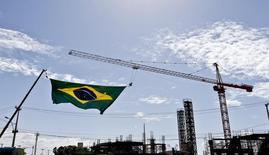 Canteiro de obras em Fortaleza. 28/06/2014. REUTERS/Dominic Ebenbichler
