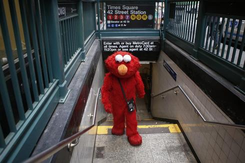 Being Elmo in Times Square