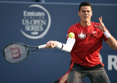 Raonic keeps Canadian party alive with nervy win