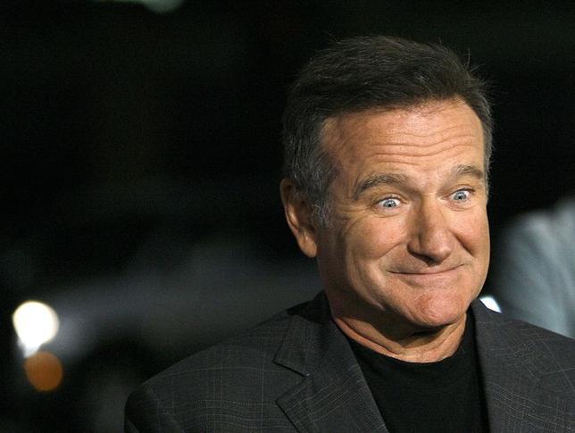 8月11日、米カリフォルニア州マリン郡保安官事務所は、俳優でコメディアンのロビン・ウィリアムズさんが、同州の自宅で死亡しているのが見つかったと明らかにした。2006年4月撮影(2014年 ロイター/Mario Anzuoni)
