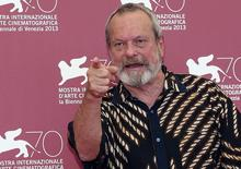 """Director Terry Gilliam poses during a photocall for his movie """"The Zero Theorem"""" during the 70th Venice Film Festival in Venice September 2, 2013.  REUTERS/Alessandro Bianchi"""