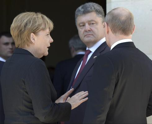As Ukraine forces gain in east, focus of German diplomacy shifts