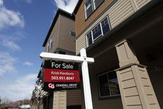 Casa posta a venda na cidade de Portland, nos EUA. 20/03/2014. REUTERS/Steve Dipaola