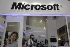 L'enquête antitrust visant Microsoft en Chine se focalise sur son navigateur internet et le lecteur multimedia Media Player, ce qui n'est pas sans rappeler les accusations précédemment portées contre le géant des logiciels aux Etats-Unis et en Europe. /Photo d'archives/REUTERS