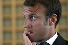 Novo ministro da Economia da França, Emmanuel Macron, em Paris. 27/08/2014 REUTERS/Charles Platiau