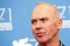 Ator norte-americano Michael Keaton durante o 71º Festival de Cinema de Veneza. 27/08/2014. REUTERS/Tony Gentile