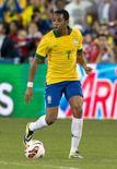 Foto de arquivo de Robinho em amistoso da seleção nos EUA contra o Chile. REUTERS/USA TODAY Sports/Nick Turchiaro