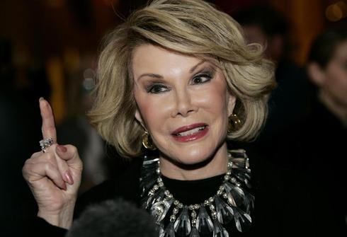 No-holds-barred comedian Joan Rivers dies at age 81