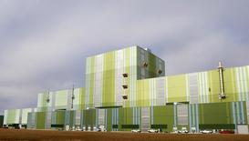 La planta acerera de ThyssenKrupp Steel en Calvert, EEUU, nov 22 2013. La producción manufacturera de Estados Unidos bajó en agosto por primera vez en siete meses debido a un declive en la fabricación de vehículos, pero la tendencia subyacente siguió consistente con una actividad en franco ascenso. REUTERS/Lyle Ratliff