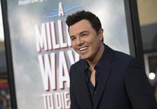 Diretor e ator MacFarlane durante lançamento do filme em Los Angeles, em 15 de maio. REUTERS/Mario Anzuoni