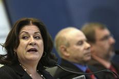 Ministra do Planejamento, Miriam Belchior, durante evento em Brasília, em 29 de agosto de 2013. REUTERS/Ueslei Marcelino