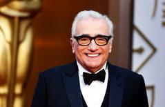 """Martin Scorsese, best director nominee for his film """"The Wolf of Wall Street"""", arrives at the 86th Academy Awards in Hollywood, California March 2, 2014.  REUTERS/Lucas Jackson"""