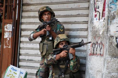 Battling militants in Lebanon